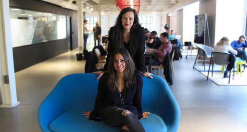 Clelia Morales y Laurence Fontinoy, fundadoras de WOOM Fertility